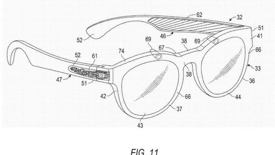 Prototipo del nuevo modelo de Spectacles