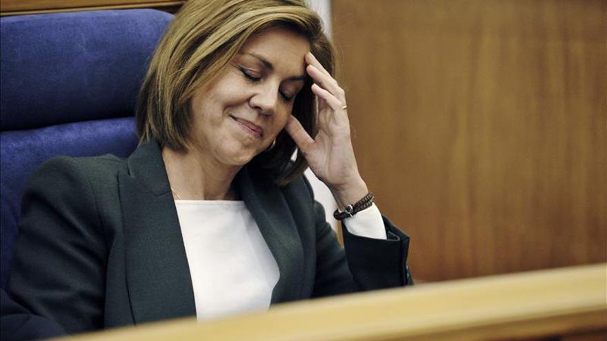 Cospedal cree que el PSOE en Andalucía no querrá cerrar pactos antes del 24M