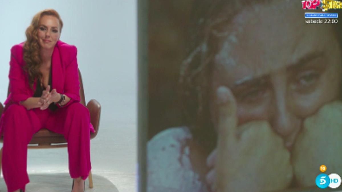 Rocío Carrasco, al ver a su hija en 'Supervivientes'