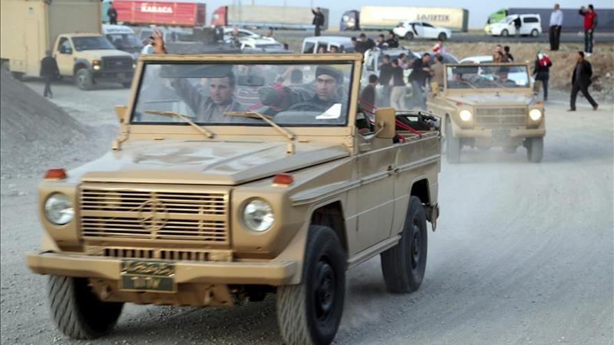 Las fuerzas kurdas avanzan por el sur de Kobani frente a los yihadistas