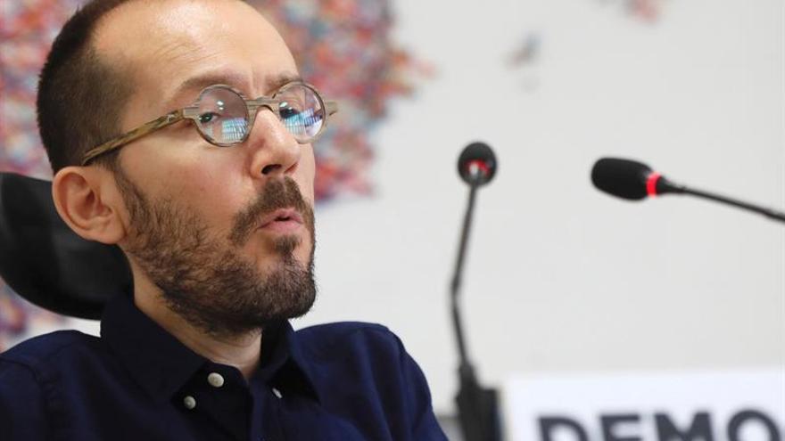 """Echenique: La """"cloaca"""" del PP también interpela a Ciudadanos y al PSOE"""