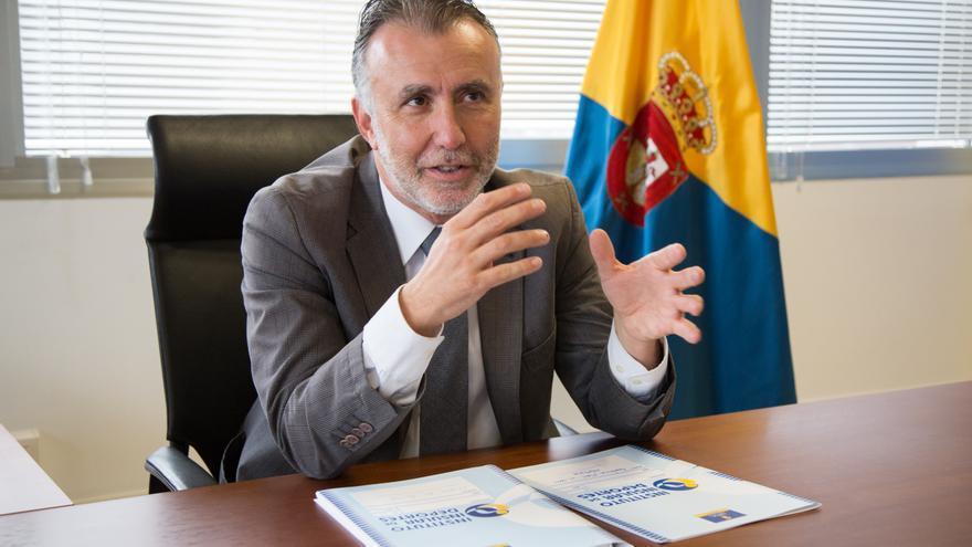 El consejero de Deportes del Cabildo de Gran Canaria, Ángel Víctor Torres.