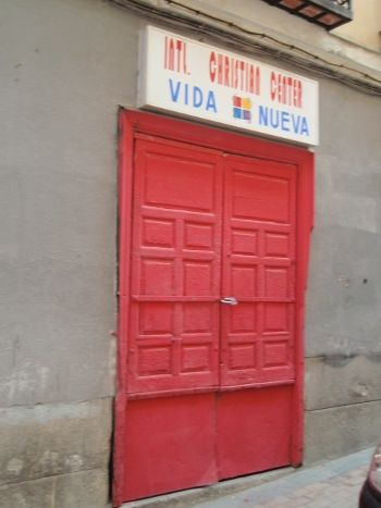 Puerta pintada | L.C.