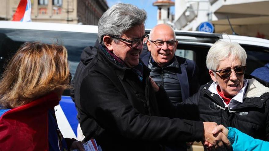 """Mélenchon: """"Quiero que haya una buena salida común"""" para Cataluña"""