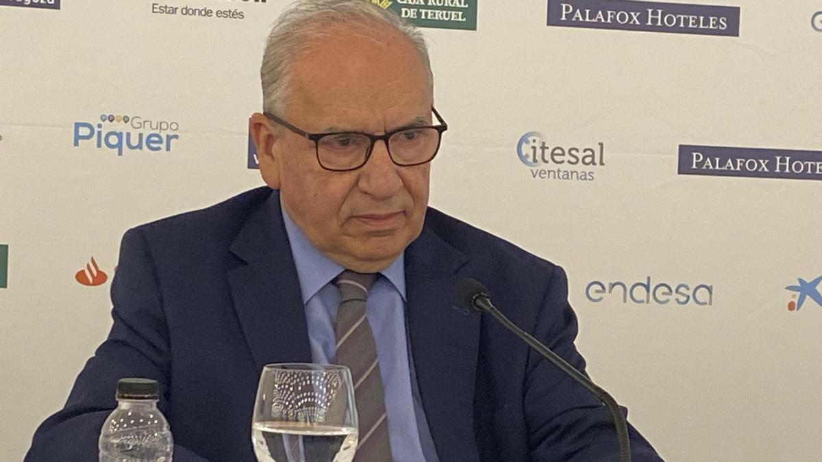 El exvicepresidente del Gobierno de España, Alfonso Guerra.