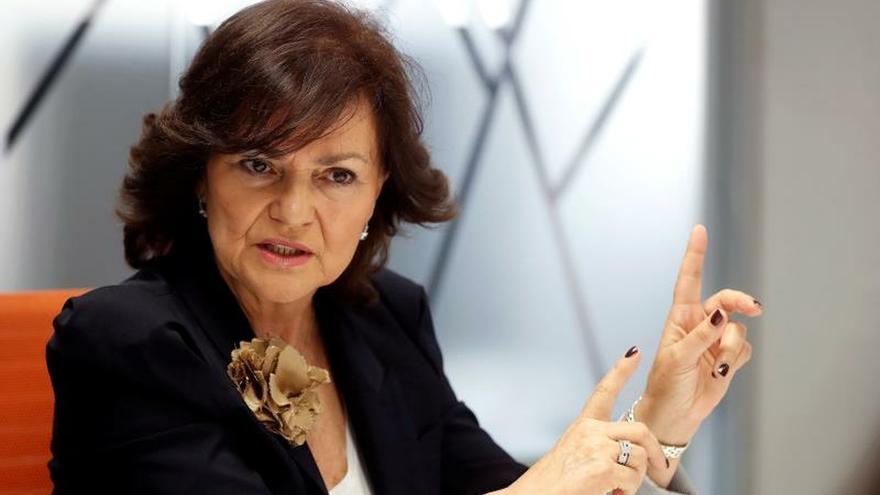 Calvo: Hay tiempo, pero Sánchez no aceptará una investidura sin apoyo previo