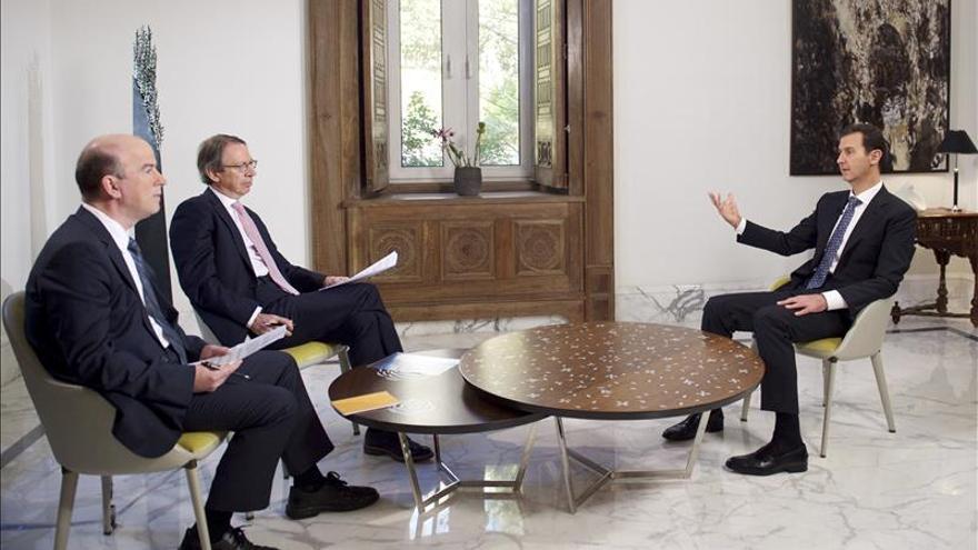 Siria dispuesta a negociar, pero no con organizaciones terroristas