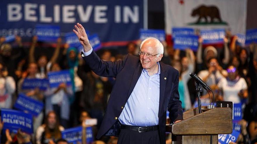 Sanders necesita el apoyo de los latinos de California para llegar a la convención