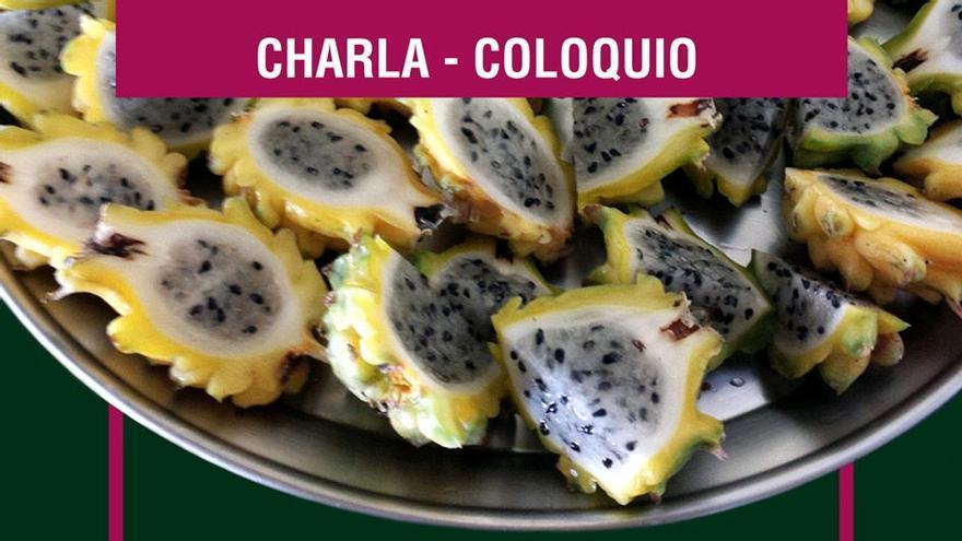 Cartel del curso dedicado al cultivo y manejo agronómico de la pitaya.