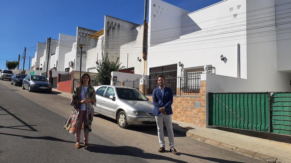 Cristina Casanueva y Francisco Javier Maestre