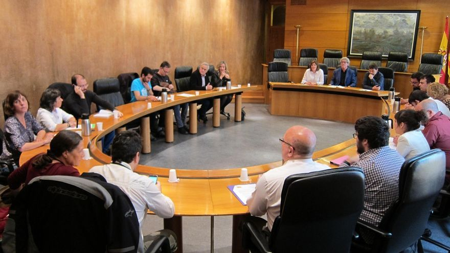 Concluye sin acuerdo la reunión de la izquierda aragonesa sobre la candidatura conjunta al Senado