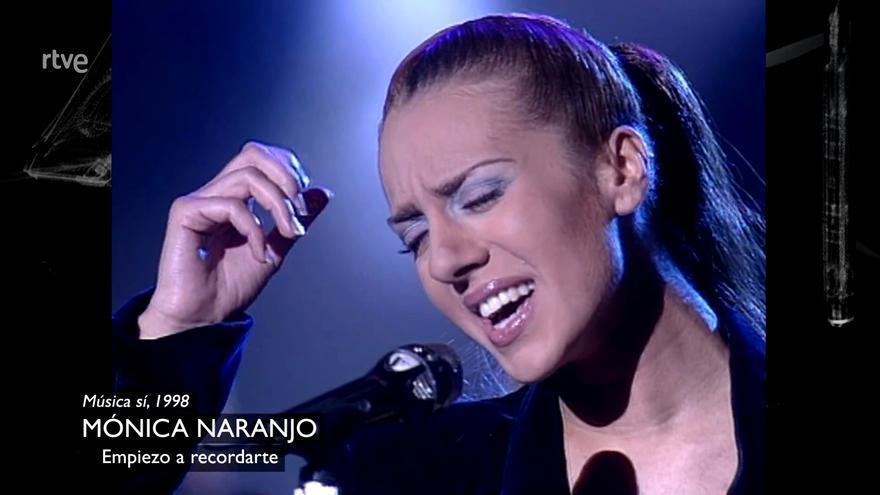 Mónica Naranjo, en 'Cachitos'