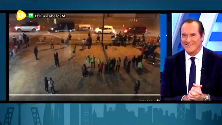 Desliz de Antonio Jiménez en 'El Cascabel' al informar del atentado en Manchester