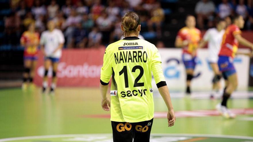 La portera Silvia Navarro es fija en el equipo nacional español.