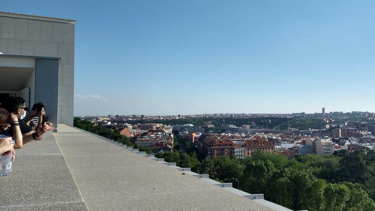 Mirador de la plaza de la Armería, junto al Palacio Real