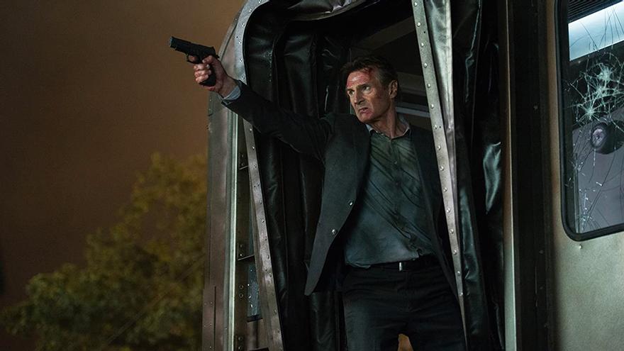 Liam Neeson, en una escena de 'El Pasajero'