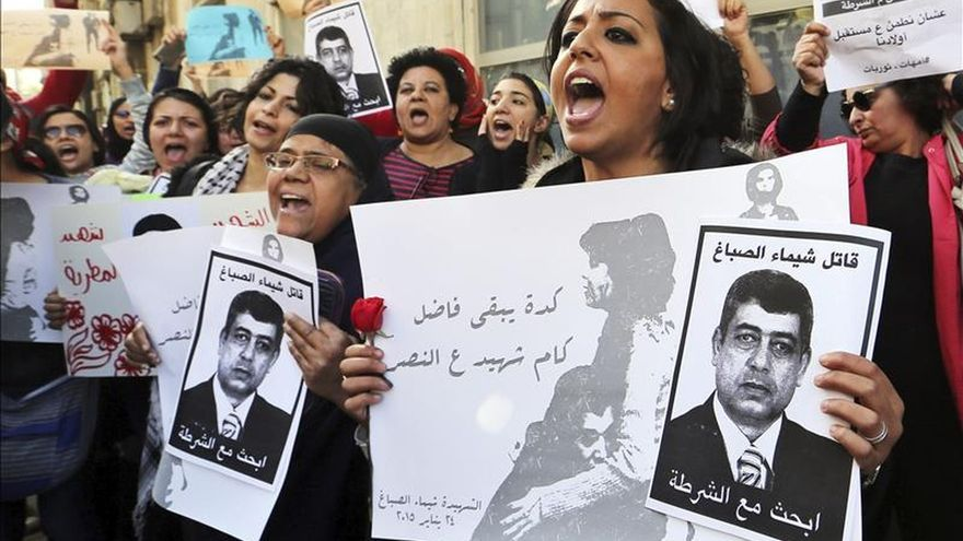 La Fiscalía egipcia acusa a un policía de la muerte de la activista Al Sabag