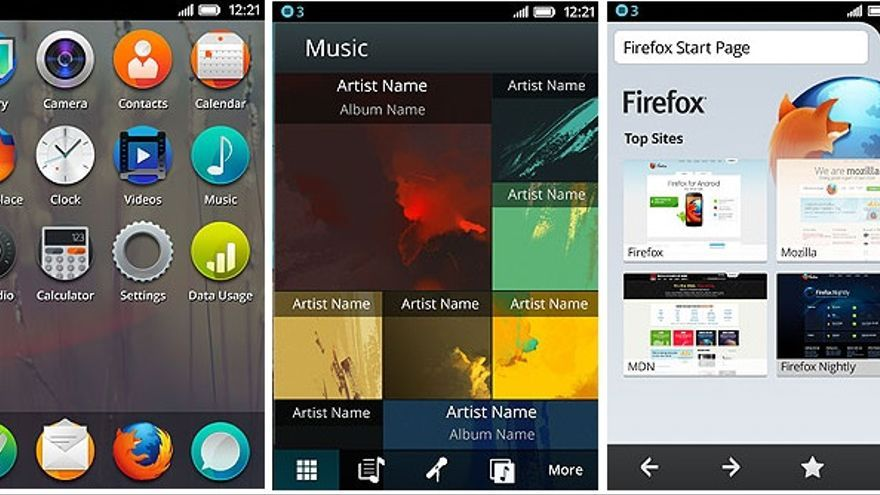 Firefox OS, tizen y ubuntu para telefonos
