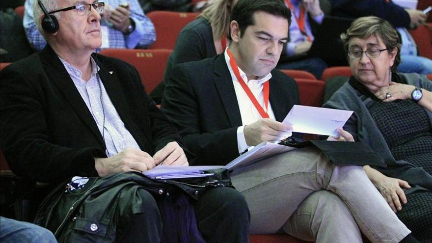 """Tsipras quiere ser el símbolo de toda Europa contra """"el genocidio económico"""""""