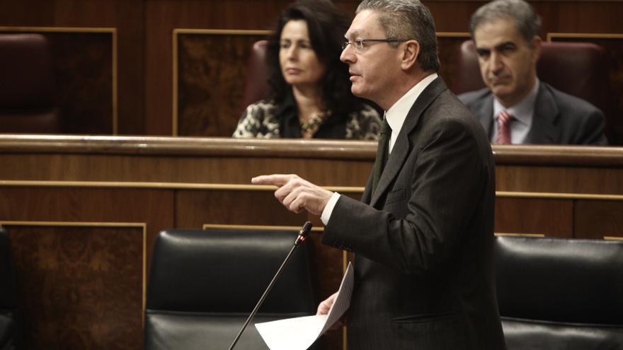 """Gallardón no ve razones que, """"a priori"""", justifiquen la concesión del indulto a Matas"""