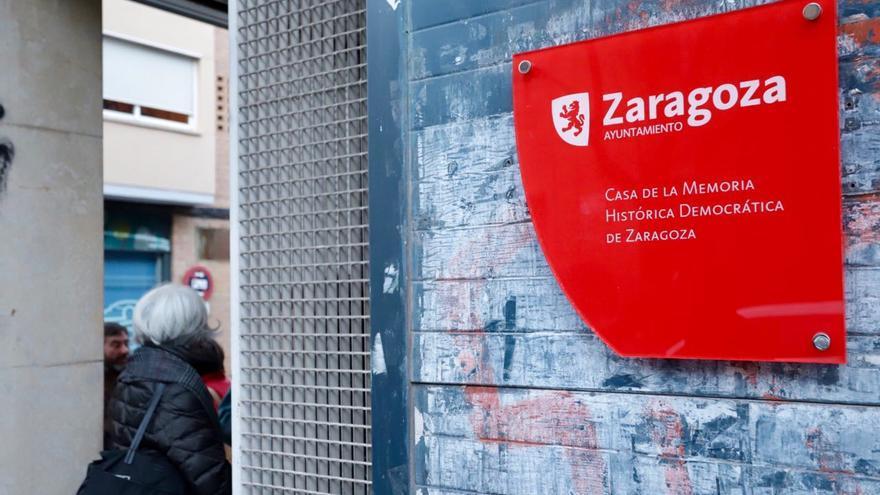 El pasado 18 de enero se inauguró la Casa de la Memoria Histórica de Zaragoza