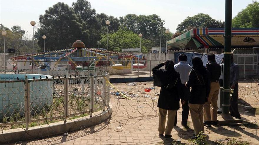 Al menos 50 detenidos tras el atentado en un parque de Lahore, en Pakistán