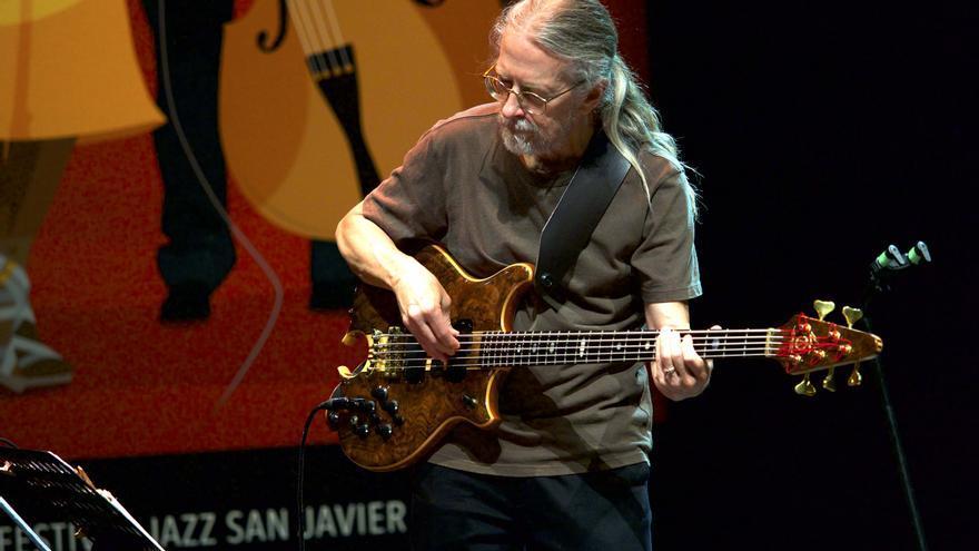 Jimmy Johnson bajista y coautor de algunas composiciones de Gadd / GOIO VILLANUEVA