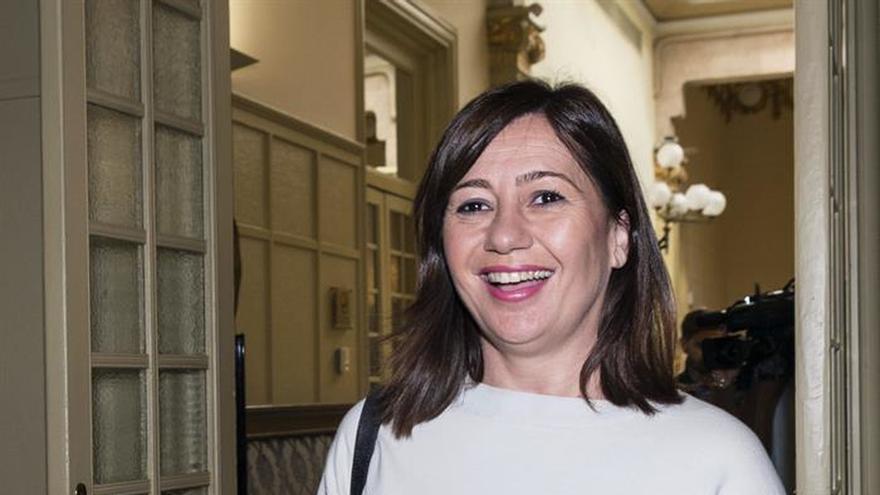 """Armengol (Baleares) vería un """"error profundo"""" que el PSOE rompiese con el PSC"""