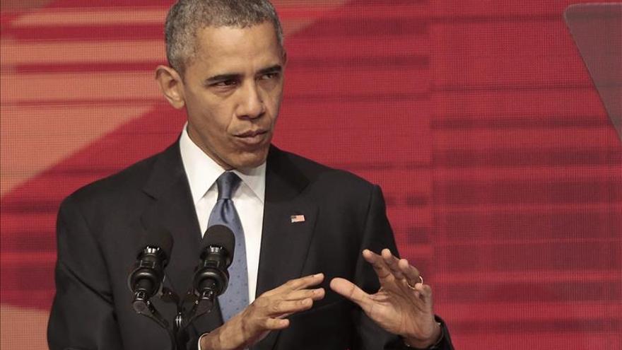 """Obama dice que EE.UU. será """"implacable"""" en la lucha contra el terrorismo"""