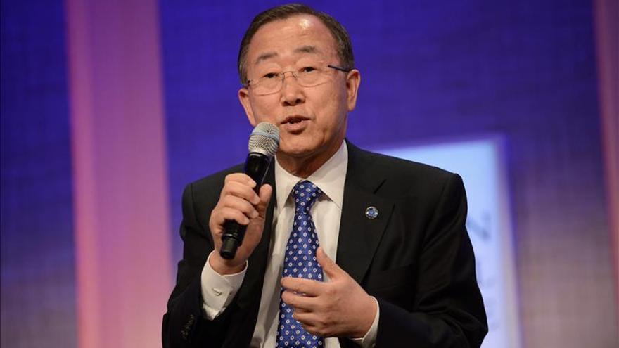 """Ban exige al Consejo de Seguridad """"unidad"""" para resolver la """"calamidad"""" siria"""