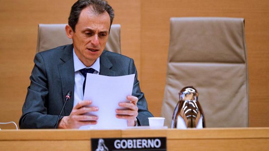 El ministro de Ciencia e Innovación,PedroDuque, comparece ante la Comisión de Ciencia, Innovación y Universidades del Congreso de los Diputados, este jueves en Madrid.