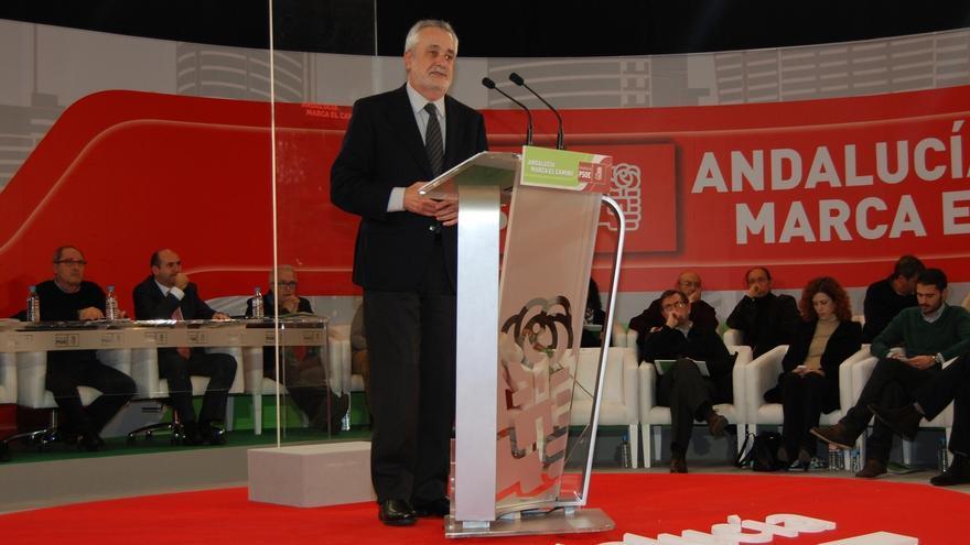 """AMP- Griñán pide prohibir por ley pago de sobresueldos a cargos públicos porque es un """"fraude democrático en toda regla"""""""