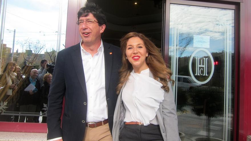 """Marín afirma que la posibilidad de adelantar al PSOE el 20D """"no supone ningún giro"""" en su postura en Andalucía"""