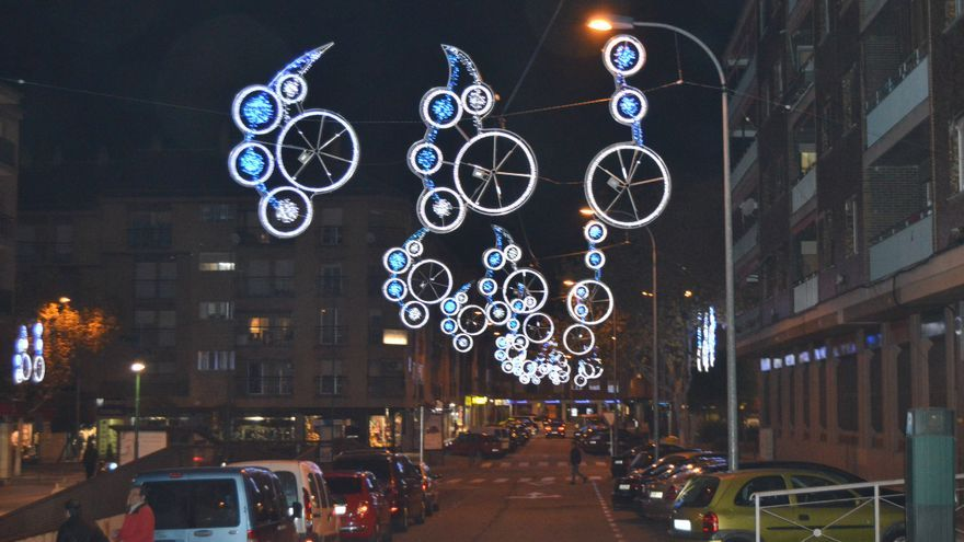 Luces de navidad en Toledo / Foto: Javier Robla