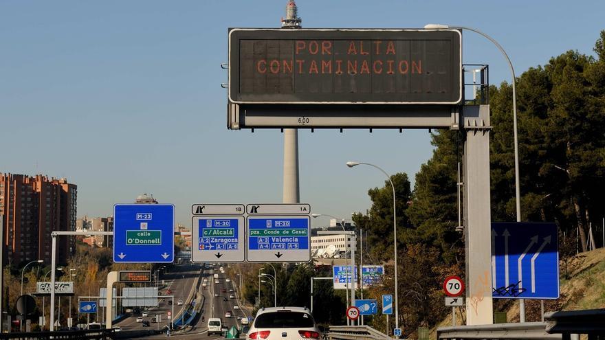 Adiós a la tregua de la contaminación en Madrid: las restricciones a la circulación de coches vuelven un año después