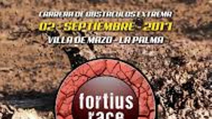 Cartel de la 'Fortius Race' de Villa de Mazo.