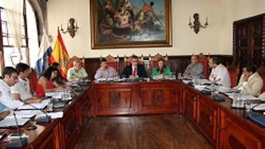 Foto de archivo de un pleno del Ayuntamiento capitalino.
