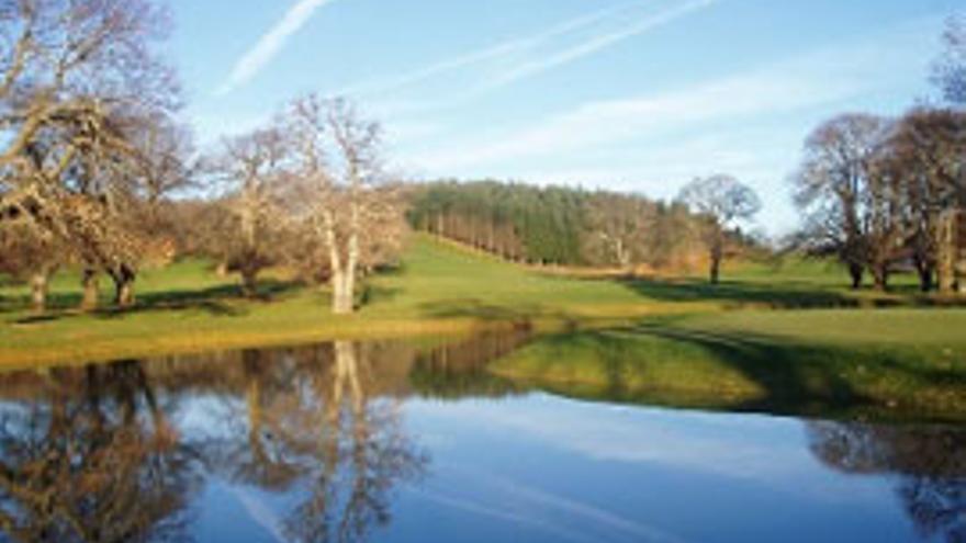 El campo de golf de Urturi/ Foto: euskadi.eus