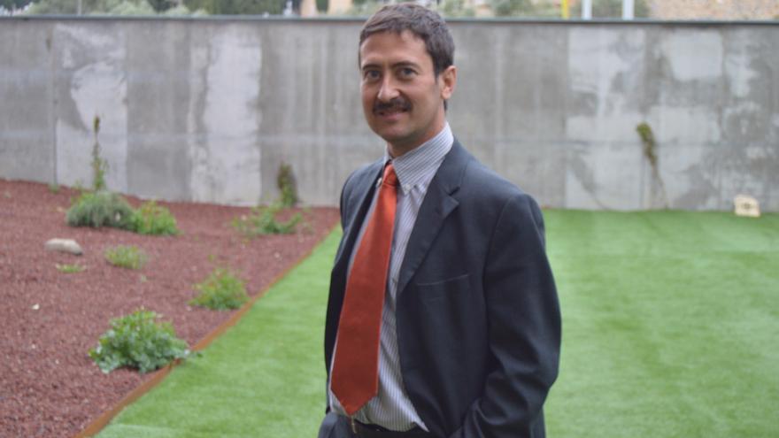 Ángel Ligero, candidato a la presidencia de Castilla-La Mancha por Ciudadanos / Foto: Javier Robla