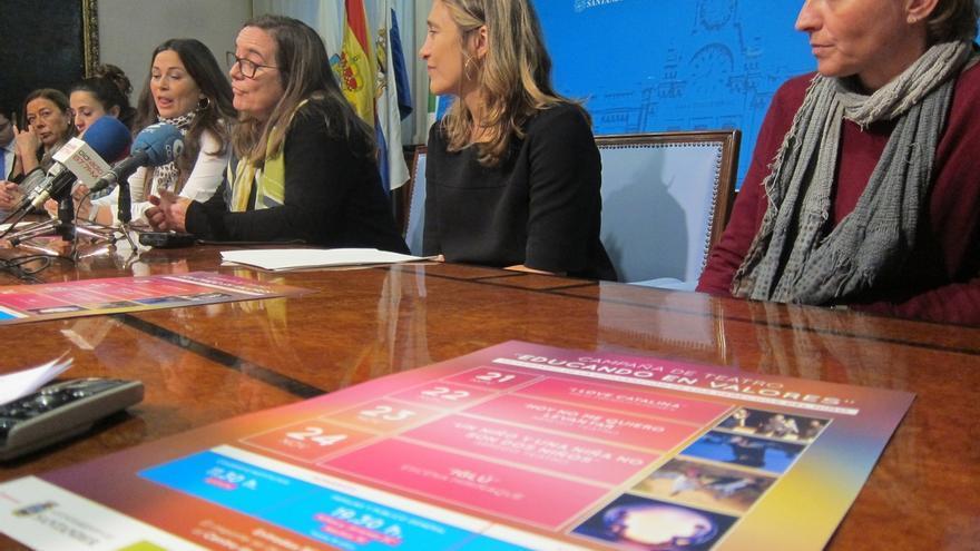 Colegios y familias de Santander participarán en un nuevo ciclo de teatro para educar en valores