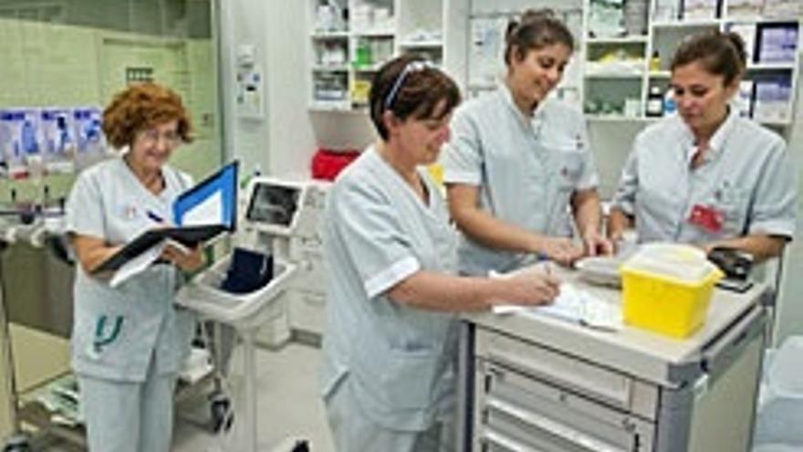 Salud convoca 69 plazas de técnico auxiliar de enfermería, 13 de técnico en radiodiagnóstico y 7 de matrona