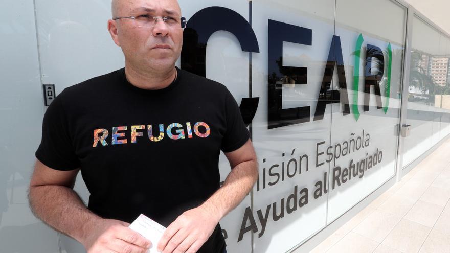 El coordinador de CEAR en Canarias, Juan Carlos Lorenzo.
