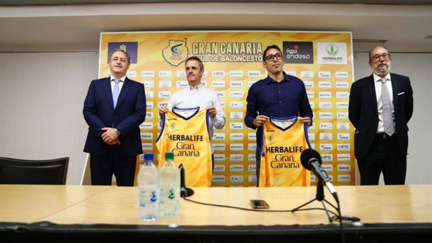 Fisac y Villar toman ya la riendas del Herbalife Gran Canaria