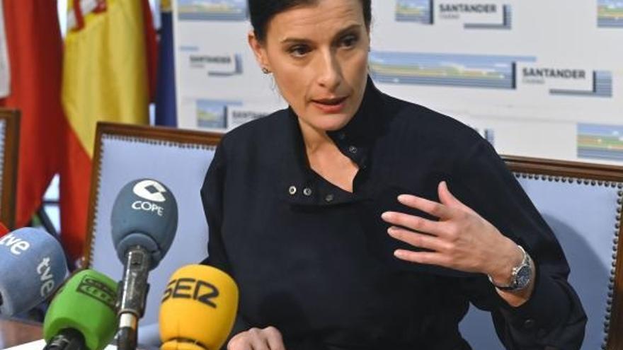 La alcaldesa de Santander participa este domingo en Murcia en la jornada 'Alcaldes por la libertad' del PP