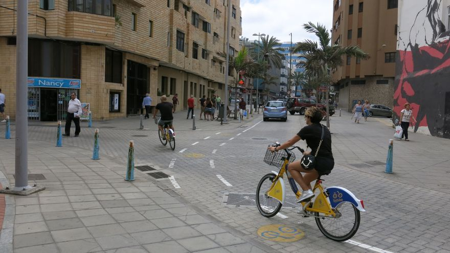 La calle Olof Palme.