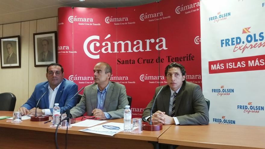 En la imagen, acto de presentación en Tenerife de la ruta 'La Palma seduce al chicharro'.