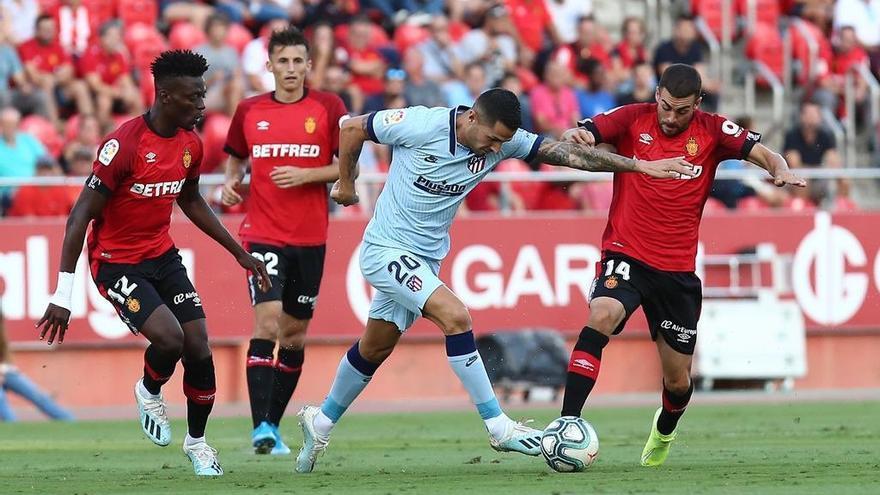 Vitolo en el Mallorca-Atlético del pasado miércoles.