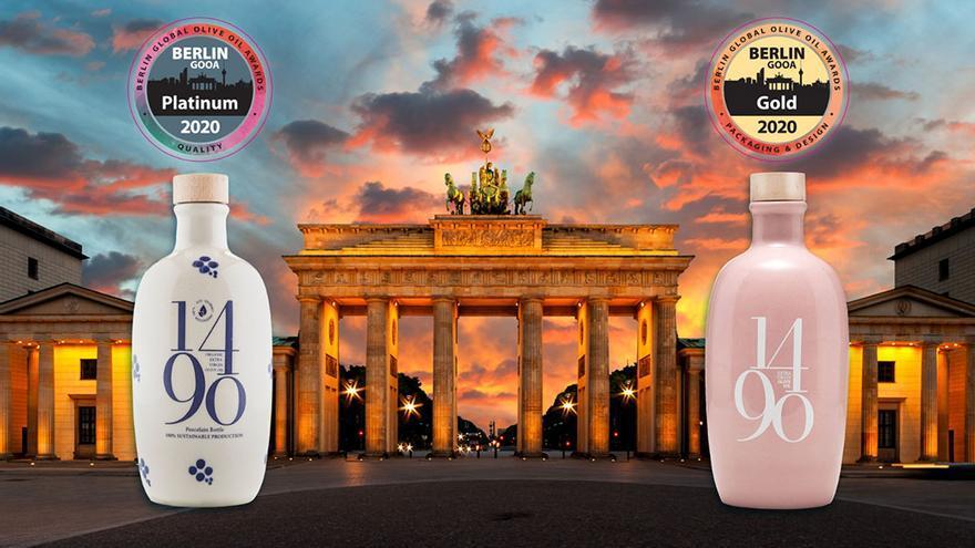 Dos de los diseños premiados en Alemania.