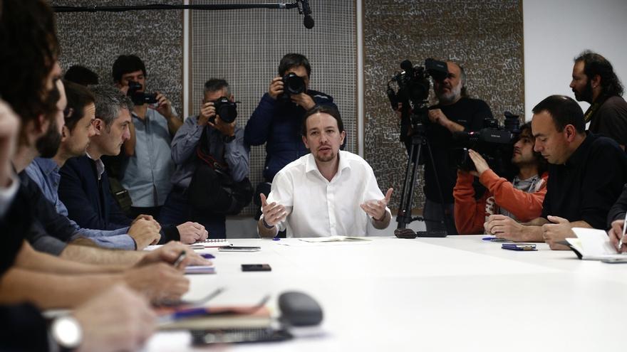 Pablo Iglesias reafirma que seguirán condicionando su apoyo en Andalucía a la dimisión de Chaves y Griñán