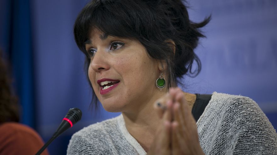 """Teresa Rodríguez afea unas declaraciones de Monedero llamando a Griñán """"honesto"""" y este le acusa de cortar su frase"""